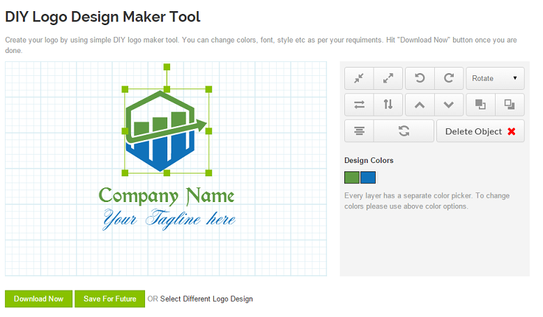 DIY Logo Maker Tool
